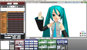 Download the latest version of MikuMikuDance MMD