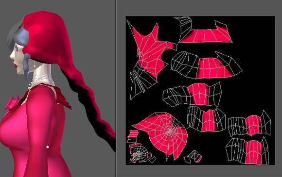 Guideline for Texture painted on