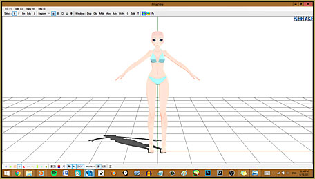Make Custom MMD Models using Downloaded Parts