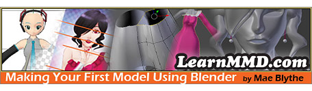CLICK to go the Making Your First Model Using Blender Tutorial!