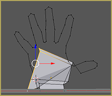 Geometry After Adding a Vertex Without Deselecting