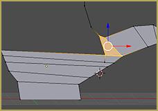 Knife Tool Used to Create Quad