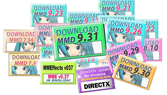 DOWNLOADS - Learn MikuMikuDance - MMD Tutorials - Free 3D Animation