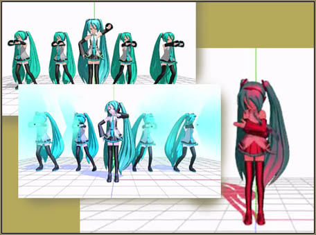When Mikus Attack... an early MMD using MMD 7.39.