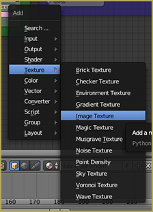Path to Image Texture in Nodes Editor