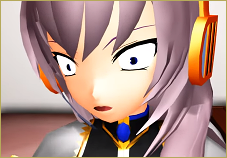 The VOCALOIDS were a little freaked out but, not as freaked out as Luka...