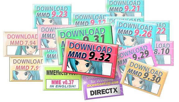 LearnMMD.com Downloads Page. Download MikuMikuDance, the latest version of MMD !