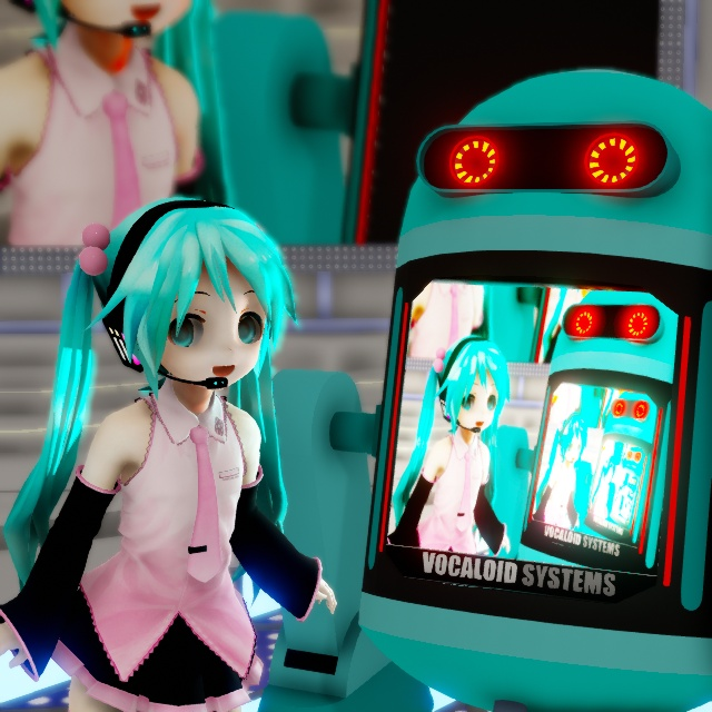 The Ray-MMD LED widget is light emissive... meaning it can cast light onto other models.