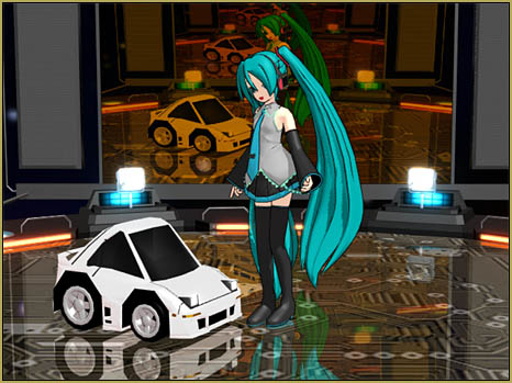 Download these cute MMD little car models... two styles and 14 models.